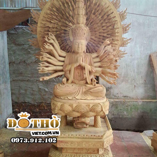 Tượng Bồ Tát Thiên Thủ Thiên Nhãn 06
