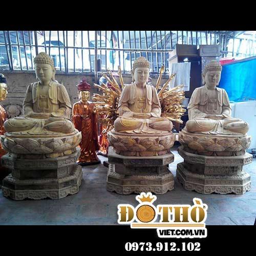 Tượng Tam Thế Chư Phật 02 D