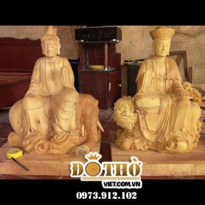 Đôi Nét Về Tượng Phật Văn Thù Bồ Tát Và Phổ Hiền