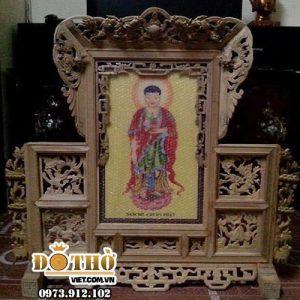 Khung ảnh Thờ Phật 03