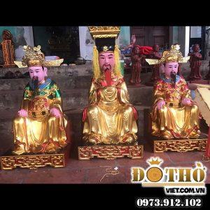 Tượng Vua Cha Ngọc Hoàng – Nam Tào – Bắc Đẩu ĐTV78